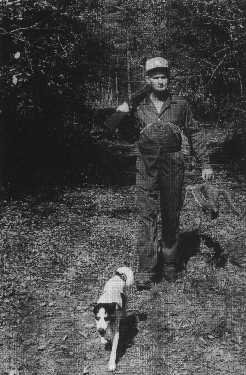 dog hunting squirrel