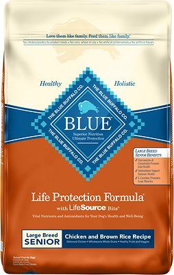 Blue Buffalo Blue Life Protection Formula Large Breed Senior