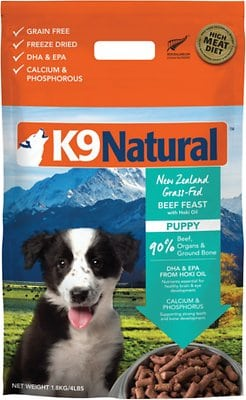 K9 Natural Grain-Free Puppy Freeze-Dried Dog Food