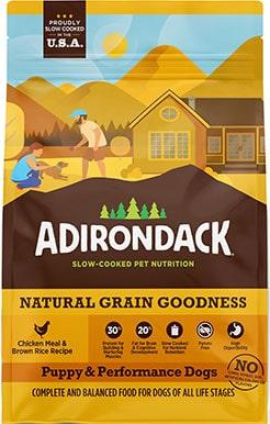 Adirondack 30% Protein High Fat Dog Food