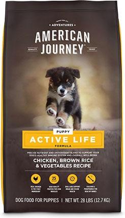 American Journey Puppy Chicken, Brown Rice & Vegetables