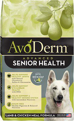 AvoDerm Advanced Senior Health Lamb & Chicken Meal