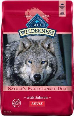 Blue Buffalo Wilderness Salmon Recipe Dry Dog Food