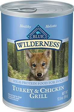 Blue Buffalo Wilderness Turkey & Chicken Grill Canned Dog Food
