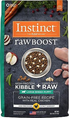 Instinct Raw Boost Large Breed Puppy Real Chicken & Freeze-Dried Raw Pieces