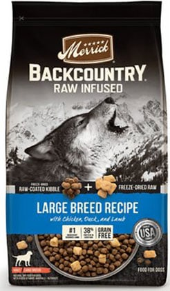 Merrick Backcountry Raw Infused Large Breed Adult