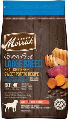 Merrick Large Breed Real Chicken & Sweet Potato Recipe