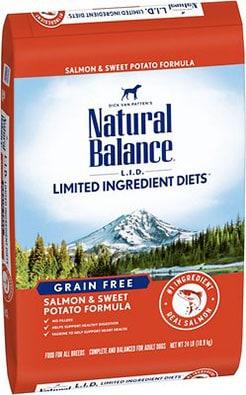Natural Balance L.I.D. Limited Ingredient Diets Grain-Free Salmon & Sweet Potato