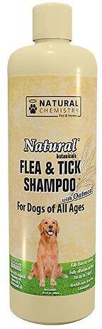 Natural Chemistry Natural Flea & Tick Shampoo with Oatmeal