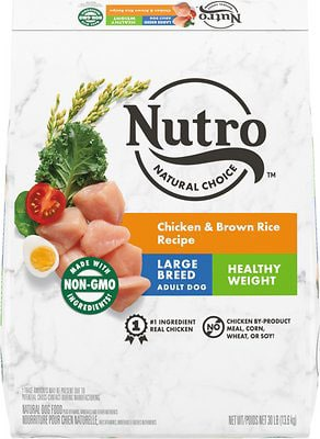 Nutro Wholesome Essentials Large Breed Adult Chicken Rice & Sweet Potato