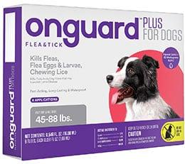 Onguard Flea & Tick Spot Treatment for Dogs
