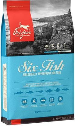Orijen 6 Fish Grain-Free Dry Dog Food