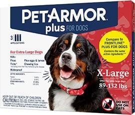 PetArmor Flea & Tick Spot Treatment for Dogs 89-132 lbs