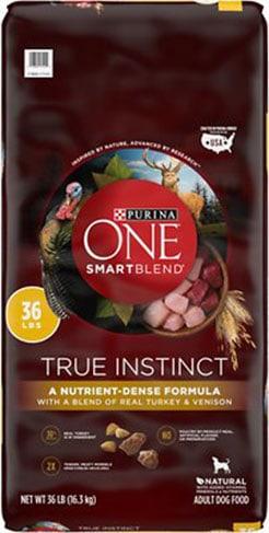 Purina ONE SmartBlend True Instinct Natural With Real Turkey & Venison