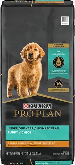 Purina Pro Plan Puppy Chicken & Rice Dry Dog Food