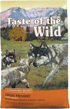 Taste of the Wild High Prairie Puppy Formula Grain-Free Dry Dog