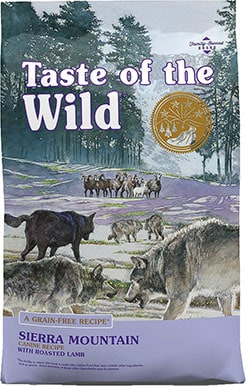 Taste of the Wild Sierra Mountain Grain-Free Dog Foodream Grain-Free Canned Food