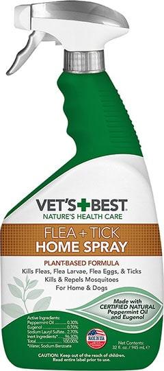 Vet's Best Dog Flea + Tick Home Spray