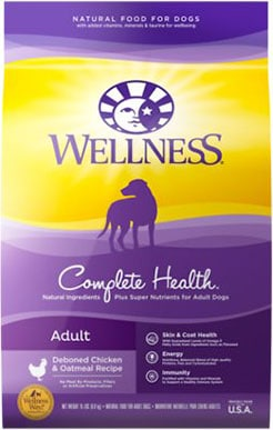 Wellness Complete Health Adult Deboned Chicken and Oatmeal