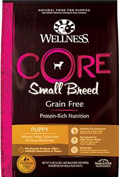 Wellness CORE Grain-Free Puppy Chicken & Turkey Dog Food