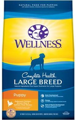Wellness Large Breed Complete Health Puppy Deboned Chicken