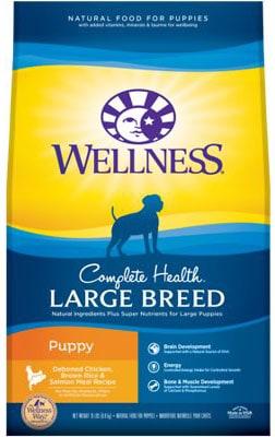 Wellness Large Breed Puppy Deboned Chicken Brown Rice & Salmon