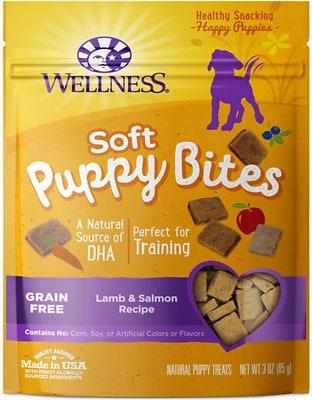 Wellness Soft Puppy Bites Lamb & Salmon Recipe