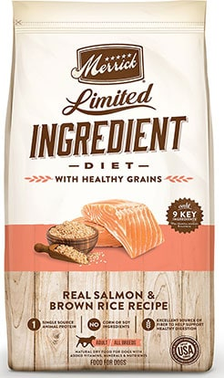 Merrick Limited-Ingredient Diet with Real Salmon & Brown Rice Recipe