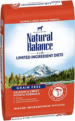 Natural Balance LID Limited Ingredient Diets Salmon & Sweet Potato