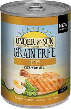 Under the Sun Grain-Free Puppy Chicken Formula Canned Dog Food