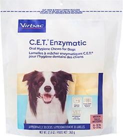 Virbac C.E.T. Enzymatic Oral Hygiene Dental Dog Chews
