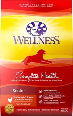 Wellness Complete Health Senior Deboned Chicken & Barley Dog Food