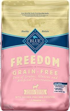 Blue Buffalo Freedom Small Breed Puppy Chicken Recipe Grain-Free