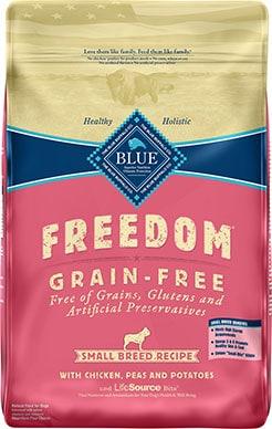 Blue Buffalo Freedom Small Breed Adult Chicken Recipe Grain-Free Dry Dog Food