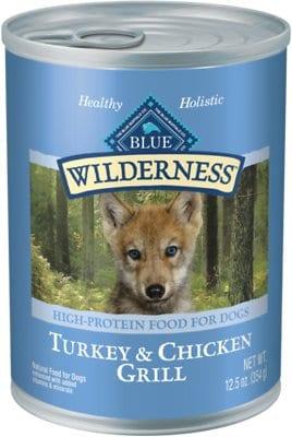 Blue Buffalo Wilderness Puppy Canned Dog Food
