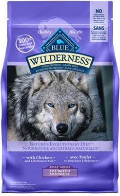 Blue Buffalo Wilderness Toy Breed Adult Grain-Free Chicken Recipe