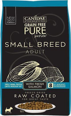 Canidae PURE Petite LID Salmon Formula Small Breed Puppy Recipe