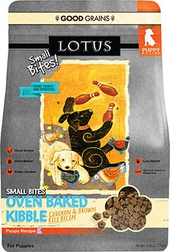 Lotus Oven-Baked Small Bites Chicken Puppy Recipe