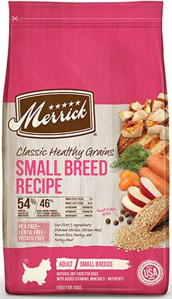 Merrick Classic Healthy Grains For Adult Small Breed