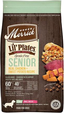 Merrick Lil' Plates Grain-Free Chicken & Sweet Potato Senior Recipe