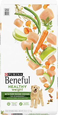 Purina Beneful Healthy Weight with Farm-Raised Chicken