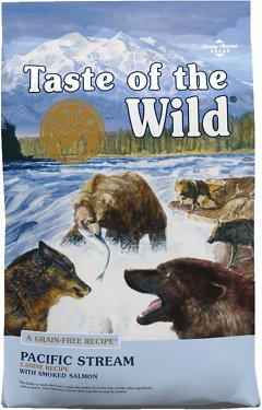 Taste of the Wild Pacific Stream Grain-Free Dry Dog Food