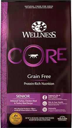 Wellness CORE Grain-Free Deboned Turkey Senior Recipe