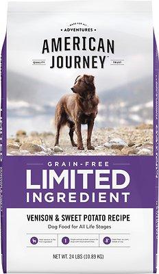 American Journey Limited Ingredient Diet Venison & Sweet Potato Dog Food