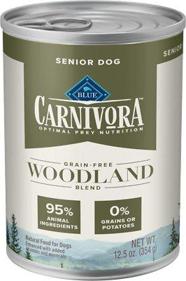 Blue Buffalo Carnivora Woodland Blend Grain-Free Senior Wet Dog Food