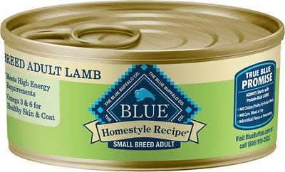 Blue Buffalo Homestyle Recipe Small Breed Lamb Dinner Canned Dog Food