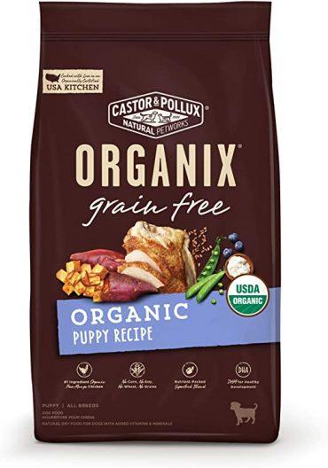 Castor & Pollux Grain-Free Organic Puppy Recipe Dog Food