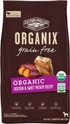 Castor & Pollux ORGANIX Organic Grain-Free Dry Dog Food