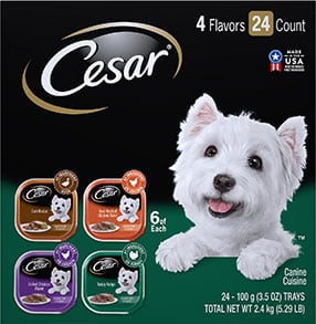 Cesar Poultry Variety Pack with Real Chicken Turkey & Duck