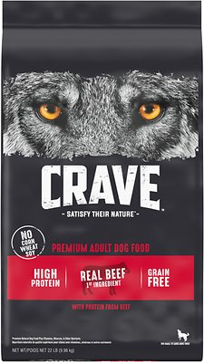 Crave High Protein Beef Adult Grain-Free